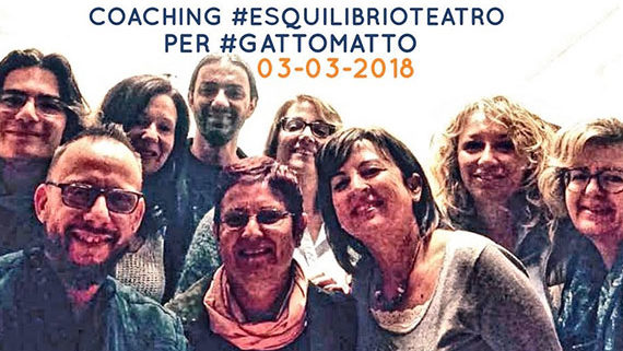 Coaching teatrale Esquilibrio per Gattomatto
