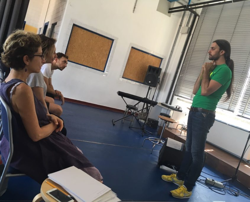 Summeer School Esquilibrio Teatro: masterclass di vocal training con Alex Imelio