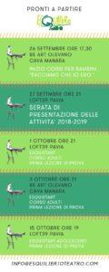 Corsi Esquilibrio Teatro 2018-2019