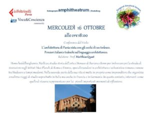 L'architettura di Pavia vista con gli occhi di un tedesco