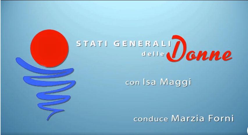 Alessandro Imelio a Stati generali delle Donne, con Isa Maggi