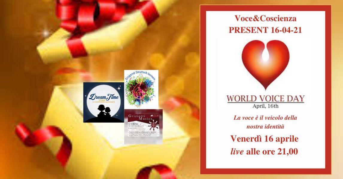 Present - World Voice Day
